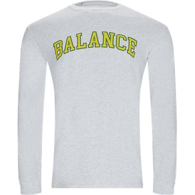 Balance Long Tee Regular | Balance Long Tee | Grå